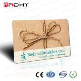 Carte d'adhésion sèche d'IDENTIFICATION RF initiale par la carte de crédit de la taille MIFARE 1K