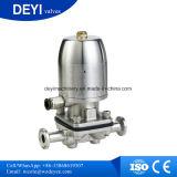 China Acero inoxidable SS316L Actuador neumático válvulas de diafragma