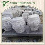 石灰岩のの屋外の販売の石ベンチ/表のための庭の手によって切り分けることおよび彫刻切り分けられる彫刻