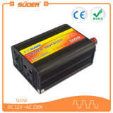 Suoer precio de fábrica Power Inverter DC 12V a AC 220V Smart Solar Power Inverter 500W (SKA-500A)