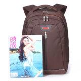 L'ordinateur portable en nylon d'ordinateur portatif de sac à dos portent le sac campant populaire de mode d'affaires