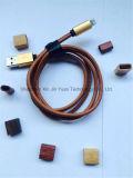 De Bliksem die van het leer De Kabel van de Gegevens van de usb- Lader laden voor iPhone