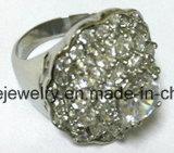 De Ring van de Vinger van de Steen van Castion van de Juwelen van het Roestvrij staal van de manier (SCR2982)