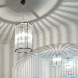 Moderne/zeitgenössische Kristallstab-Leuchter-Deckenleuchte für Esszimmer, Schlafzimmer und Halle