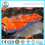 Jogar-Ao mar Liferaft inflável Self-Righting com tipo UZ da certificação do CE (GL)
