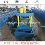 Rolo da viga de aço da forma de C que dá forma à máquina (AF-c300)