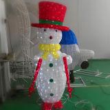 Reizendes und hohes wasserdichtes Schneemann-Licht der Weihnachtsdekoration-Qualitäts-LED