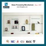 Mensola decorativa fissata al muro di vetro Tempered per il salone e la stanza da bagno