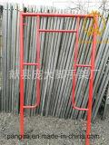 Bâti d'échafaudage avec la planche d'échafaudage fabriquée en Chine