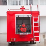 Quando o tanque de água multifunções Wind Fire Truck