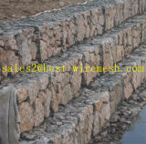 1X1X1, gabbia della pietra della casella di Gabion, gabbia di pietra rivestita galvanizzata di Galfan Gabion dei cestini delle caselle/PVC Gabion di Gabion (fabbrica diretta)