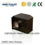 Del peso ligero galvanómetro analogico de la pista de exploración del laser Js2807 eficientemente para la máquina de la marca del laser