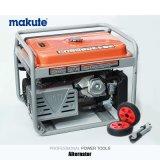 conjunto de generador del motor diesel de la gasolina de la gasolina de la potencia 5.5kwa