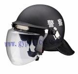 경찰 난동 Contral를 위한 방어적인 헬멧