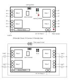 Smart Home Automation Control remoto táctil interruptor de la luz Kl-K400c