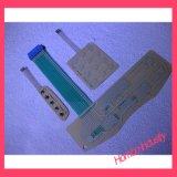 Kundenspezifische Qualität Lgf rückseitige Beleuchtung-Gummitastaturblock-Membranschalter
