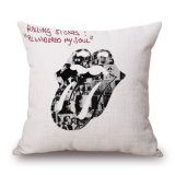 Rolling Stones a estampé la couverture de palier de maneton de sofa sans bourrer (35C0060)