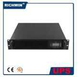 reine Welle des Sinus-1kVA~6kVA Online-UPS-Zahnstangen-Montierungs-Art für Server