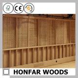 Diviseur de pièce en bois japonais de STATION THERMALE pour la décoration du Japon
