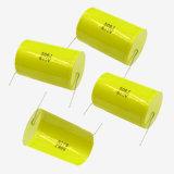 6.8UF 100VDC 10% Cl20 metalizou o tipo axial do capacitor da película de poliéster encontrado