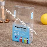 Коробка пакета ясного любимчика верхнего качества напечатанная складывая пластичная для пакета Nuk