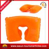 専門の膨脹可能なヘッドレストの枕最もよい膨らまし式枕航空会社安いNon-Woven航空会社の枕