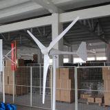 Moinho de vento pequeno horizontal do sistema da turbina de vento do gerador de ímã permanente