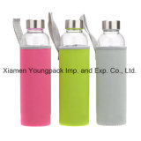 Vente en gros Customized Custom Printed 550ml Travel Sports Portable Neoprene Water Bottle Sleeves