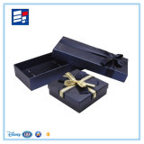腕時計のための贅沢で黒いふたおよび皿ペーパー包装ボックス