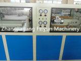 Tubo doble del PVC que hace la máquina