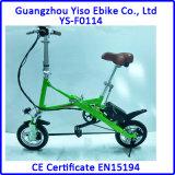 12inch que dobra a mini bicicleta elétrica esperta dos miúdos, uma bicicleta de dobramento do segundo
