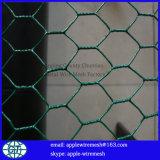 Rede de fio sextavada de Gavlanized diâmetro de fio de 0.55mm a de 1.6mm