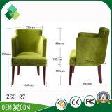 ホテルのアパート(ZSC-27)のための贅沢な最高背部椅子のウィングチェア