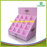 Cajas de presentación contrarias de papel de la cartulina PDQ con el gancho de leva