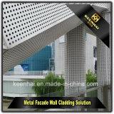 La coupure de laser lambrisse le mur rideau en aluminium extérieur décoratif de tôle