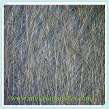Estera tajada polvo del hilo de la fibra de vidrio para la hoja transparente