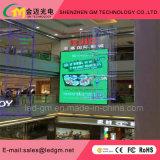Mur polychrome d'intérieur/signe d'écran de P5 HD DEL/visuels pour la publicité