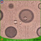 Tissu de flocage imperméable à l'eau tissé de rideau en arrêt total de franc de polyester pour le guichet