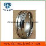Anéis Titanium do aço inoxidável de Jewellry 316L (TR1820)