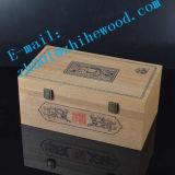 고급 나무로 되는 국제적인 교판 상자