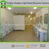 강제노동수용소 설비를 위한 층 콘테이너 집 Porta 모듈 두 배 오두막