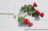 Reale Noten-Rosefaux-Blumen für Haupthochzeits-Dekoration-künstliche Blumen