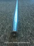 La commande numérique par ordinateur usinant lumineux en aluminium/a poli le profil anodisé de pipe d'alliage d'extrusion