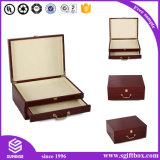 カスタマイズされた贅沢なハンドメイドの包装の宝石類のギフト用の箱