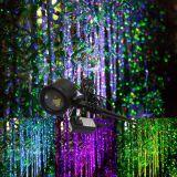 Decoración al aire libre de la ducha de 2017 nueva de la Navidad del festival del jardín luces laser de la estrella