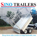Bolted Heavy Duty Box Hidráulica Tipping Trailer