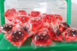 OEM & ODM는 무엇이든 액체 세제 깍지, 4X에 의하여 집중된 세척액 세제 깍지 염색한다