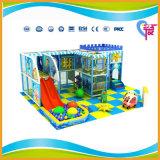 Спортивная площадка темы океана малая крытая мягкая для центра игры малышей (A-15350)