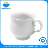 De aangepaste Pot van de Koffie van het Porselein van het Embleem Draagbare