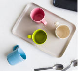 최신 판매 다채로운 대나무 섬유 아기 컵 (YK-BC4047)